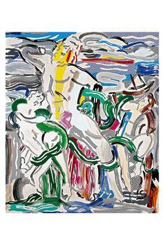Roy Lichtenstein Retrospective  at The Chicago Art Institute, explores the Artist's passionate homages to Pablo Picasso, Henri Matisse, Piet Mondrian & Julian Schnabel.