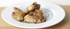 Buñuelos veganos de sarraceno con manzana