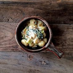 Gnocchi Carbonara with Leeks Recipe