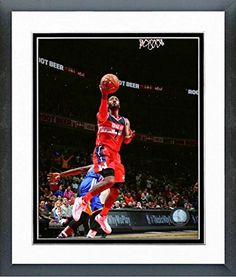 John Wall Washington Wizards NBA Action Photo Size 125 x 155 Framed >>> More info could be found at the image url.