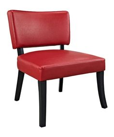 Loving this Red Look Chair on #zulily! #zulilyfinds