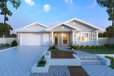 Don't compromise on your new home. Do your research and find the best new home builders in Brisbane to work on your dream house. Hamptons Style Homes, Hamptons House, The Hamptons, Custom Home Designs, Custom Homes, Acerage Homes, One Level Homes, Home Warranty, New Home Builders