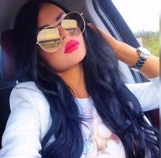 "Sunglasses & Fashion Eyewear ""Jumping Jack"" Mirror Aviator Sunglasses Cut Off Lens Edgy Frames Mirrored Aviator Sunglasses, Heart Sunglasses, Mirrored Aviators, Sunglasses Women, Sunglasses Accessories, Half Shaved Hair, Pirate Woman, Girl With Curves, Stylish Girl"