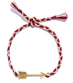 Gold-plated arrow bracelet by Jade Jagger  #matchesfashion