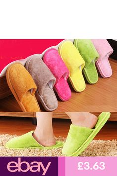 ceb1c9db70e Lovers Men Women House Slippers Anti-slip Indoor Soft Warm Cotton Shoes