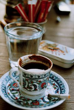 go to turkey and drink turkish coffee