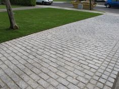 Granite setts without doubt the most beautiful and toughest driveway surface options available.