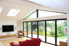 The Most Living Room Living Room Extensions Charming Living Room Extensions Within Living Room Extension Ideas Plan 1930s House Extension, Extension Veranda, House Extension Design, Extension Designs, Glass Extension, Roof Extension, Conservatory Extension, Bungalow Extensions, House Extensions