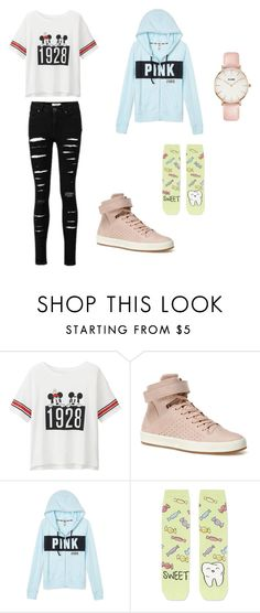 """Spring chill (2)"" by millie-simpson on Polyvore featuring Uniqlo, Lacoste, Topshop, CLUSE, shoes, tops, trousers, jackets and hoodie"