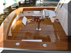 Over time, you boat woodworking will begin to age and you will need to know how to refinish boat wood teak in order to refinish the boat woodwork. The wood teak floors in a boat. Make A Boat, Build Your Own Boat, Boat Table, Sailboat Interior, Teak Flooring, Boat Restoration, Living On A Boat, Boat Kits, Wooden Boat Plans
