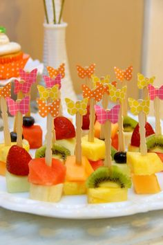 Fruit Bites from Penelope's 6th Birthday Garden Party