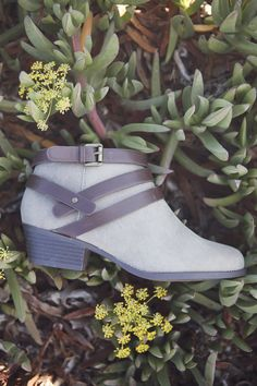 Transition into fall in these ankle booties.