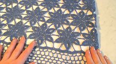 Платье крючком из мотивов. The dress of crocheted motifs.