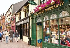NEXT TRIP! Shopping in Killarney... we were in a hurry to get through here before dark, but it looked so charming!  I definitely want to go back and spend more time here
