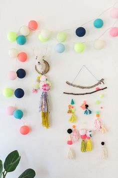 awesome 51 Creative DIY Mini Wall Hangings https://matchness.com/2018/01/05/51-creative-diy-mini-wall-hangings/