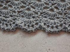 Renate's haken en zo: South Bay shawlette + free pattern border