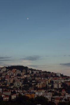 Trieste, Italy (Trieste, Italia) Being in Ljubljana meant being tantalisingly close to our beloved Italy. Moon Rise, Trieste, Seattle Skyline, Twilight, Journey, Adventure, Blog, Photography, Travel