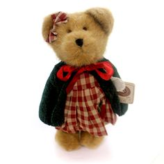 Boyds Bears Plush Gala Applesmith Teddy Bear Height: 10 Inches Material: Fabric Type: Teddy Bear Brand: Boyds Bears Plush Item Number: Boyds Bears Plush 917441 Catalog ID: 28876 New With Tag. T.J.'S B