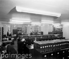 The Newspaper Library of the Press Association on Fleet Street.