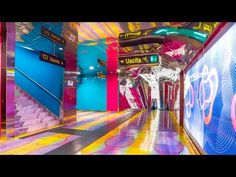 THE ART STATIONS OF THE NAPLES METRO - YouTube