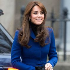 Kate Middleton is feeling blue, but not in the melancholy sense. The trend-setting Duchess of Cam...