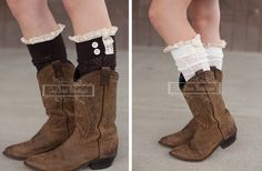 Back by Popular Demand! Chevron Open Knit Boot Socks-6 Colors 50% off at Groopdealz