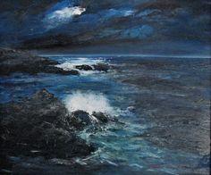 Italian Marine Painter Antonella Natalis Mare 6