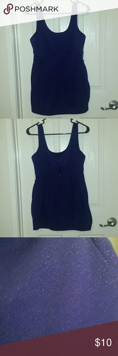 Mini sparkly  purple dress. This is a size small,  but fit a little loose. Great dress to wear to a party, night out, or to impress a date! Forever 21 Dresses Mini