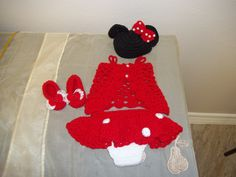 Mini Mouse Crochet Outfit