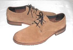 Kenneth Cole Reaction Men's Casual Brown Suede Oxford Shoe Size 11 M #KennethColeReaction #Oxfords