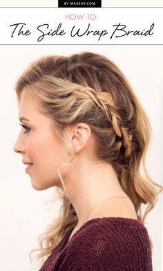 2016 is the year of braids. From boxer braids to fishtails, plaits are everywhere! Here is our simple hair tutorial for getting the perfect side wrap braid for long and medium hair lengths.