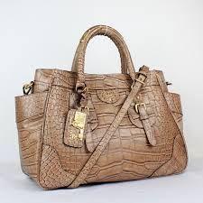 prada crocodile leather bag