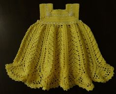 Baby Girl Dress Patterns | Harvest Baby Girl Dress Crochet Pattern