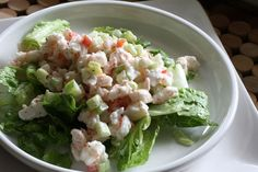 This Simple Shrimp Salad Recipe is Great for Lunch or Dinner