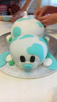 Torta cagnolino per primo compleanno