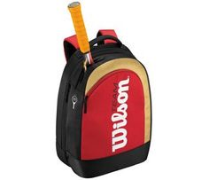 Wilson BLX Team II Backpack Small  BlackRedGold -- You can find more details by visiting the image link.(This is an Amazon affiliate link and I receive a commission for the sales)