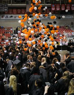 Cape Girardeau Central High School held its graduation May 18, 2014, at the Show Me Center. #graduation
