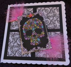 Lelli-bots gothic birthday card