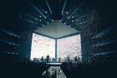 not so simple but very effective stage design by hillsong united