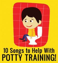 10 Songs to Help Your Toddler While Potty Training