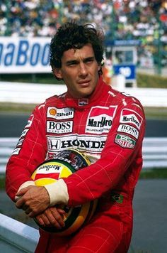 Ayrton Senna, forever in our hearts!