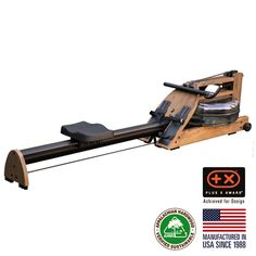 WATERROWER A1S4 WALNUT HOME ROWING MACHINE 2016