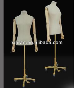 best selling women dummy/female torso witht he wood arms and moving base $85~$120