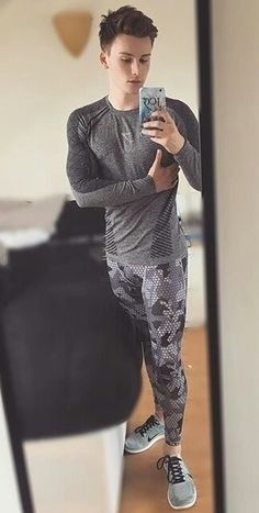 Men in Lycra, spandex, running and compression tights Sport Fashion, Boy Fashion, Superenge Jeans, Skinny Jeans, Shaping Tights, Lycra Men, Mens Tights, What To Wear Today, Gym Wear