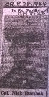 Genealogical Gems: Military Monday: Nicholas Hruszczak served in WWII...