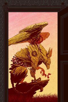 Gryphon, one of my fav mythological creatures.