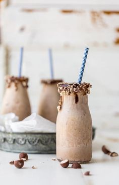 Chocolate Banana Malt Milkshake | You + this easy milkshake recipe ...