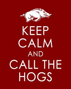 Call the Hogs! Per your request, @Stacey Powell