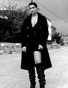 Dua Lipa photographed by Luc Coiffait for ES Magazine