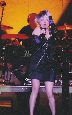 Cyndi Lauper in Australia